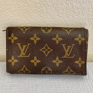 Louis Vuitton wallet porte monnaie monogram tresor